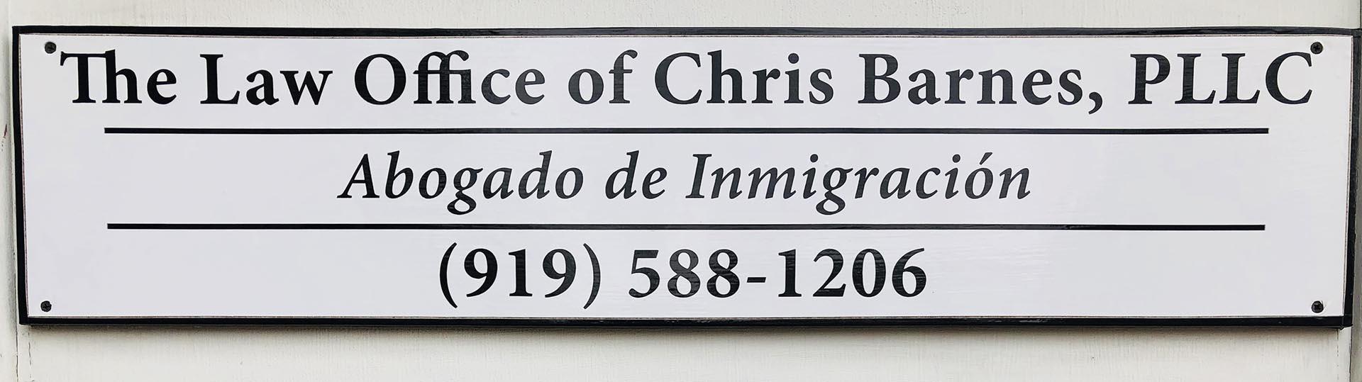 Chris Barnes Law - Abogado de Inmigrantes